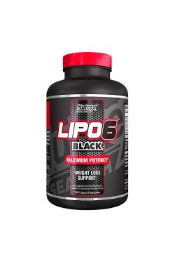 Lipo 6 Black, 120 caps.