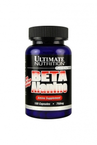 Beta Alanine 750 mg, 100 caps.UN