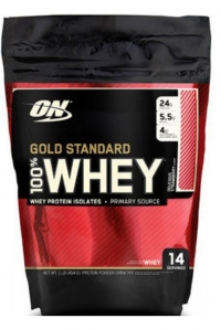 100% Whey Gold Standard, 1 lbs.