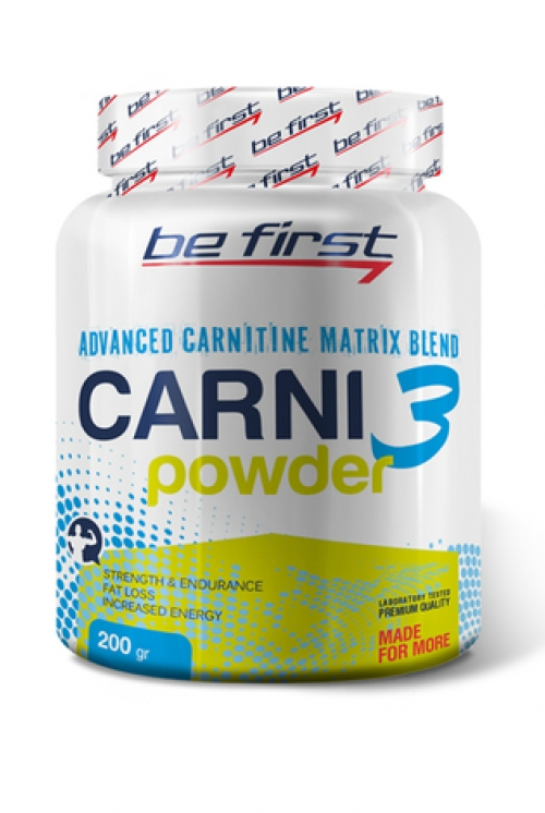 Be First Carni 3 Powder200g