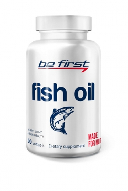 Be First Fish Oil 90 гелевых капсул