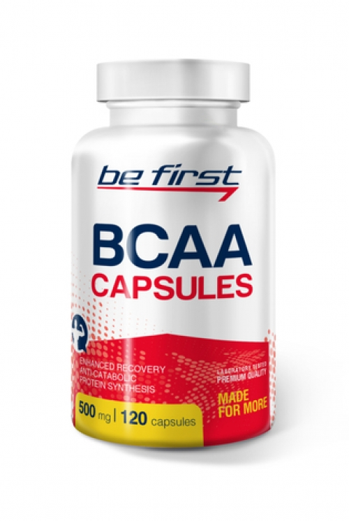 Be First BCAA 2:1:1 Capsules 120