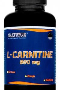 MaxPower L-Carntine 800mg, 60 tabl.