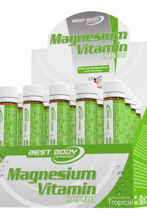 Best Body Nutrition VITAL MAGNESIUM vitamin liquid 25ml