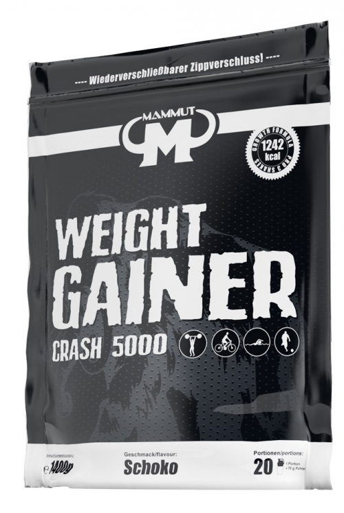 MAMMUT WEIGHT GAINER Crash 5000.1400kg
