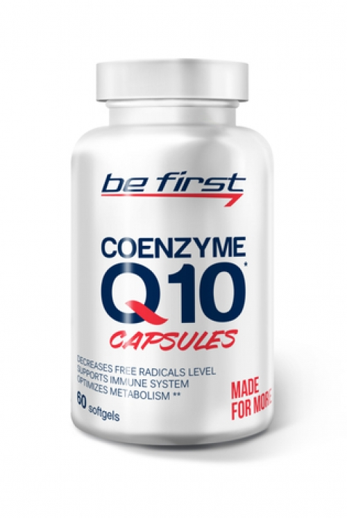 Be First Coenzyme Q10 60 cap