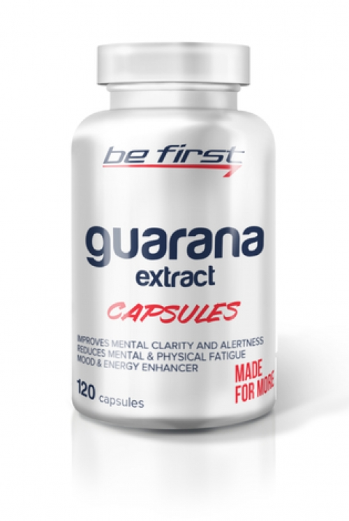 Be First Guarana  extract caps 120