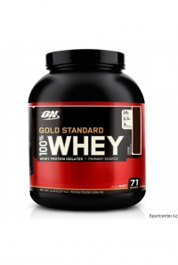 100% Whey Gold Std., 5 lbs.  71 порц.(2.2 кг)