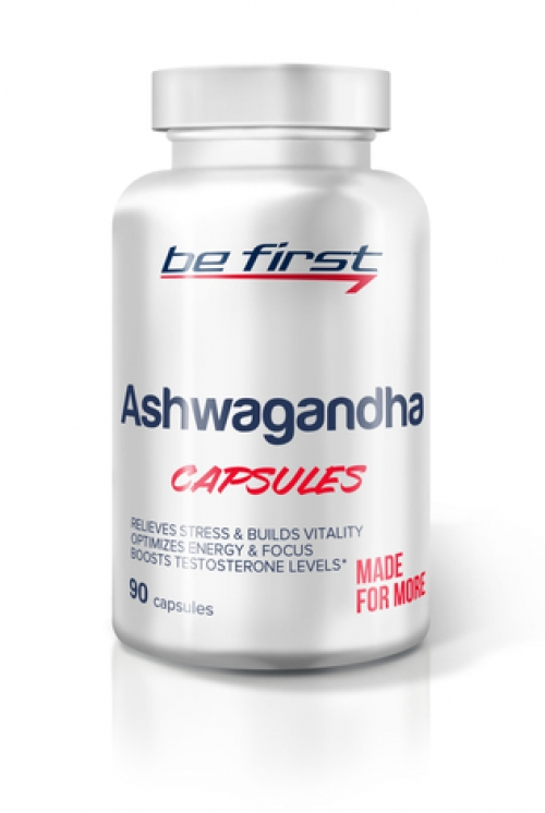 Be First Ashwagandha capsules 90 капсул