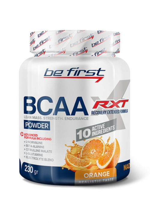 Be First  BCAA RXT Powder 230 гр