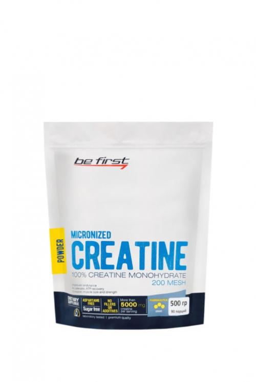 Be First Micronized creatine monohydrate powder 500 гр