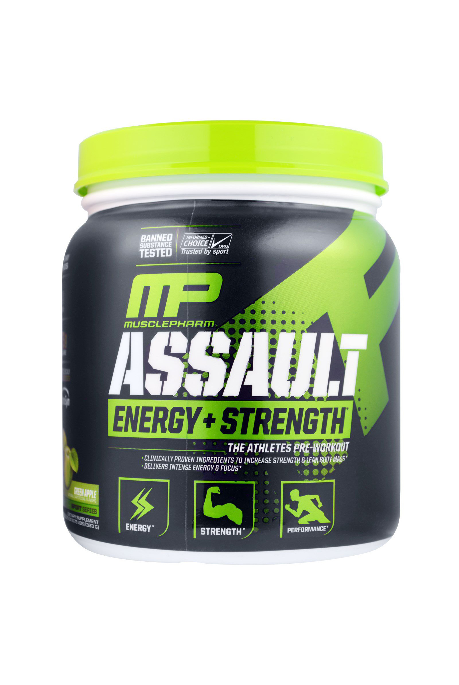 Assault, Energy + Strength,  (333 g)