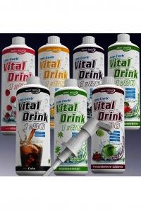 Витамины.Low Carb Vital Drink, 1 л