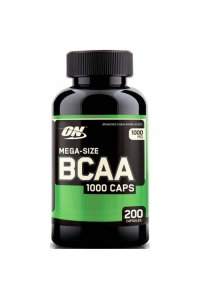 BCAA 1000, 200 caps.