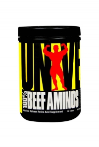 100% Beef Aminos, 400 tabs.