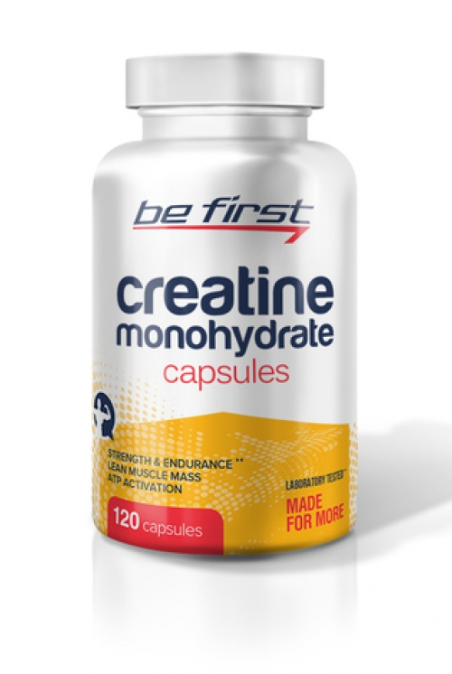Be First Creatine Monohydrate Capsules 120