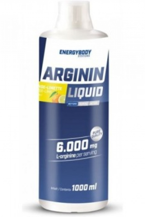 ENERGY BODY L-ARGININE LIQUID 6000mg