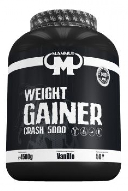 MAMMUT WEIGHT GAINER CRASH 5000 4.5kg